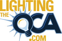 Lighting The QCA Logo