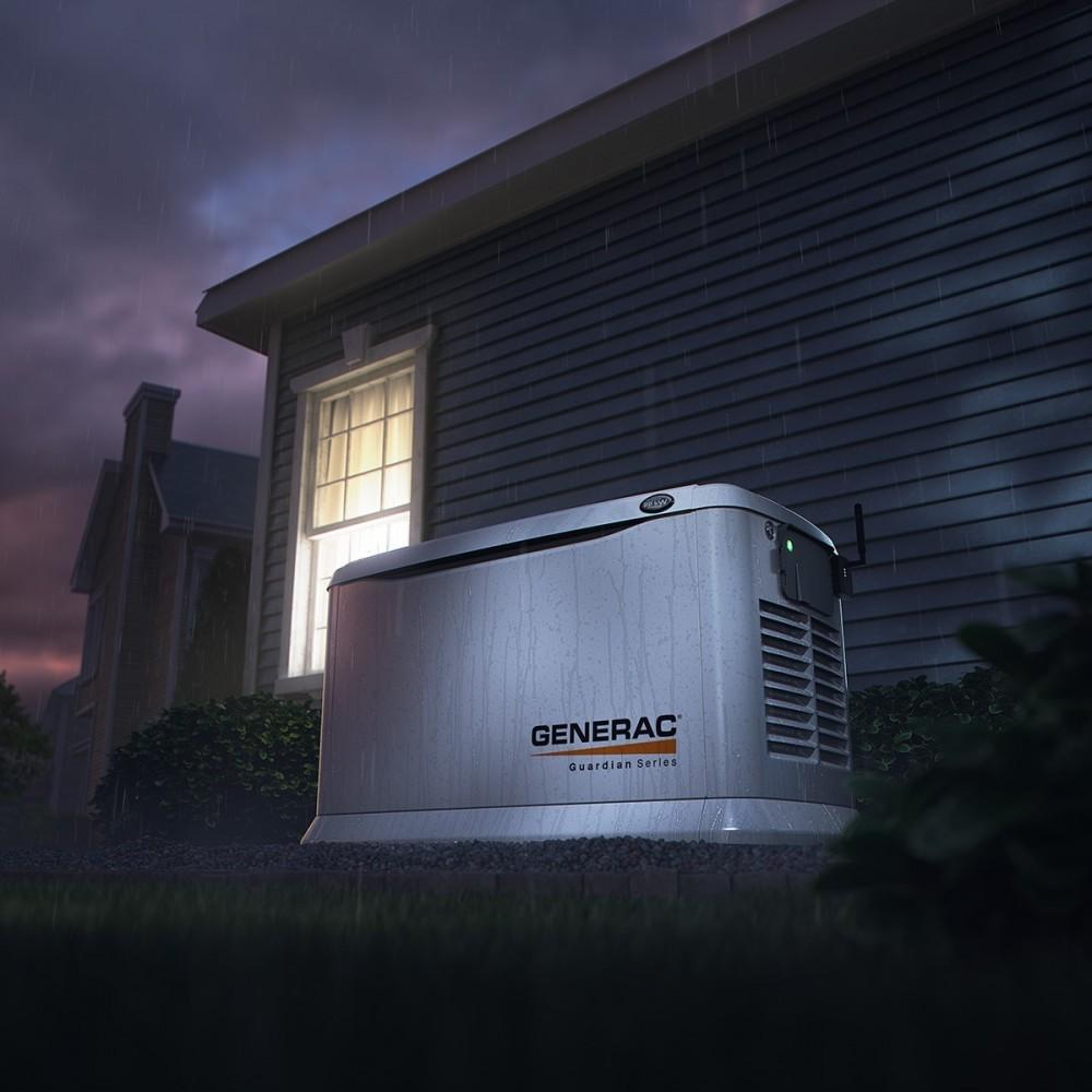 Picture of generator