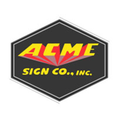 Acme Sign Company logo