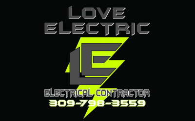 Love Electric of the QC logo